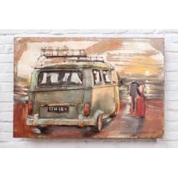 Plaque Métal Combi VW