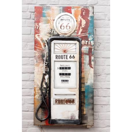 """Pompe à Essence """"Route 66"""""""