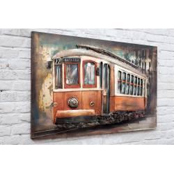 Plaque Métal Tramway