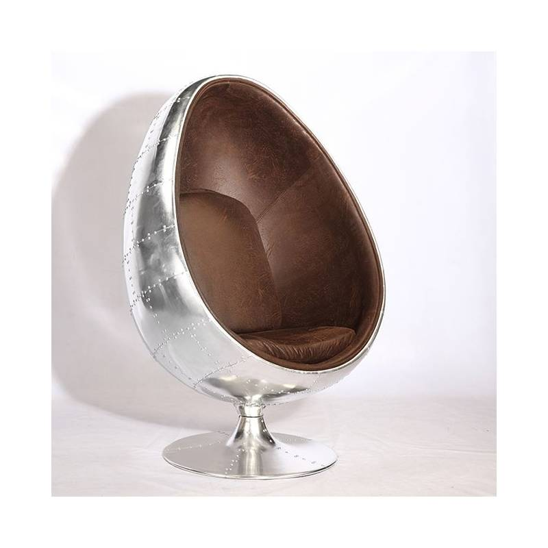 Fauteuil oeuf aviateur - Fauteuil coquille d oeuf ...